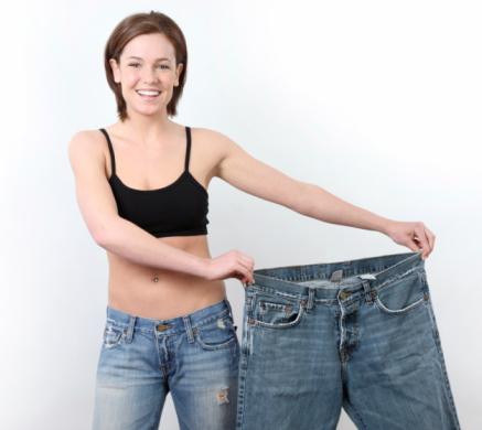 femme qui a perdu du poids