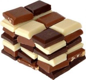 chocolat noir blanc au lait