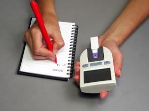 Carnet de suivi glycémie dans diabète type 1