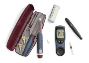 Kit d'insuline diabète type 1